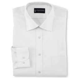 Stafford -  Broadcloth Dress Shirt