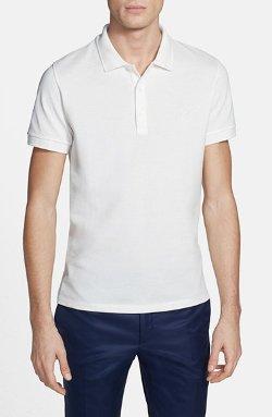 Versace  - Medusa Piqué Polo Shirt