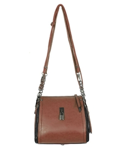 Chicnova - Vintage Chain Square Diagonal Shoulder Bag