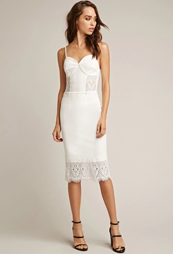 Forever 21 - Lace Midi Dress