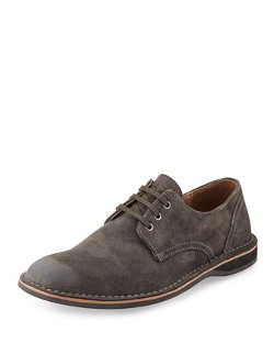 Andrew Marc  - Suede Lace-Up Oxfords