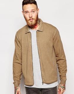 Asos  - Jersey Harrington Jacket