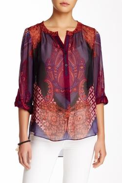 Hale Bob  - Printed Silk Blouse