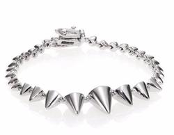 Eddie Borgo  - Graduated Mini Cone Bracelet