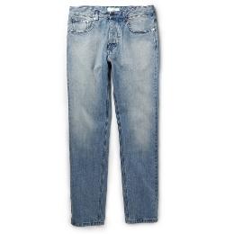 Ami - Slim-Fit Washed-Denim Jeans