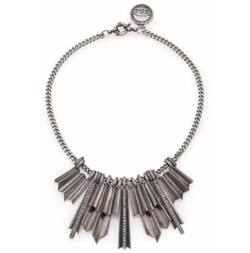 Giles & Brother - Ray Burst Pave Crystal Bib Necklace
