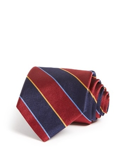 Brooks Brothers  - Striped Classic Tie