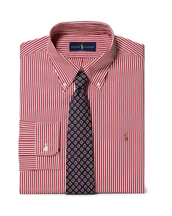 Ralph Lauren - Striped Broadcloth Dress Shirt