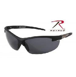 Rothco - Ar-7 Sport Glasses - Black Frame - Smoke Lens