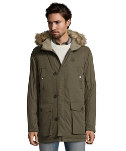 Kenneth Cole New York - Hooded Down Fill Jacket
