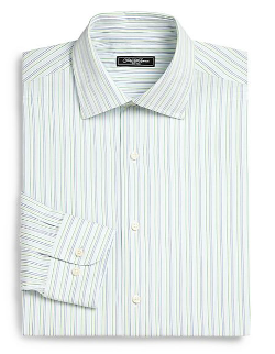 Saks Fifth Avenue Collection - Thin-Striped Dress Shirt