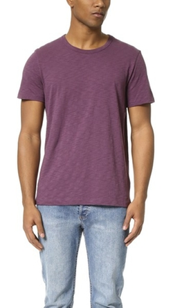 Vince - Refined Slub Tee Shirt