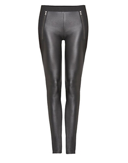 Dex - Faux Leather Leggings