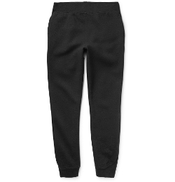 Alexander Wang - Fleece Cotton-Jersey Sweatpants
