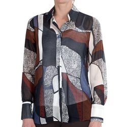 FDJ French Dressing  - Abstract Print Blouse