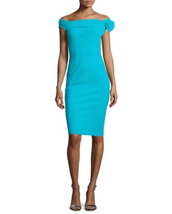 La Petite Robe di Chiara Boni - Off-The-Shoulder Sheath Dress
