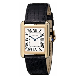 Cartier - Tank Solo Yellow Gold Case Watch