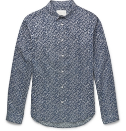 Sandro   - Printed Cotton Shirt