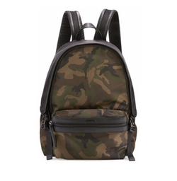 Moncler - New Romeo Camouflage Canvas & Nylon Backpack