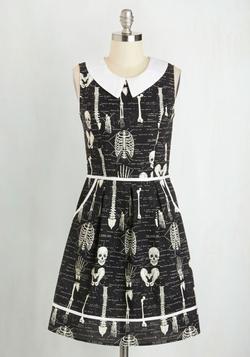 Mod Cloth - Rad To The Bone Dress