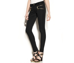 Michael Michael Kors  - Zip Pocket Skinny Pants