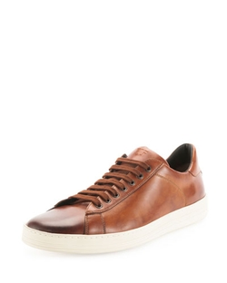 Tom Ford   - Russel Calf Leather Low-top Sneaker