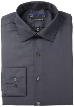 Geoffrey Beene - Fitted No-Iron Sateen Shirt
