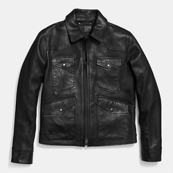 Coach - Pocket Leather Jacket