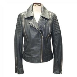 Hôtel Particulier - Leather Biker Jacket