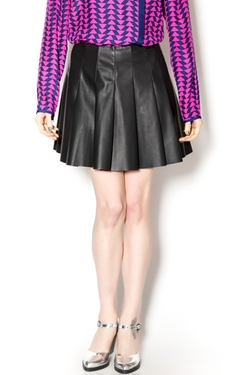 BB Dakota - Vegan Leather Pleated Skirt