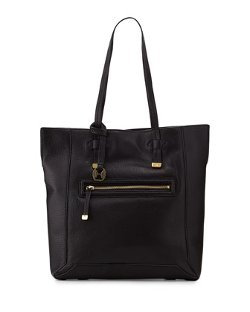Halston Heritage - Pebbled Leather North-South Tote Bag