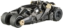 Hot Wheels - Elite One The Dark Knight Trilogy Batmobile