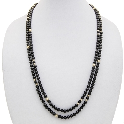 Aluma USA - Onyx Rope Necklace