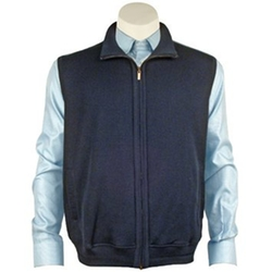 St Croix - Full Zip Sweater Vest