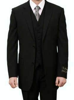 Demantie - Two Button Three Piece Suit