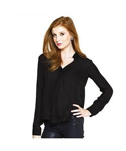 Six Twenty - Silk Blouse Button Shirt