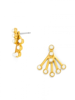 Baublebar - Pearl Broom Ear Jackets