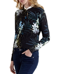 Ted Baker - Perrie Twilight Floral Cardigan