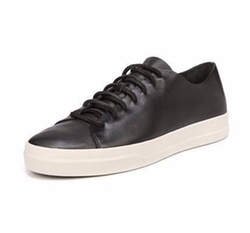 Vince - Copeland Leather Low-Top Sneakers