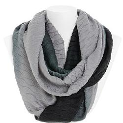 The Company Store - Echo Design Ombre Pleated Infinity Scarf
