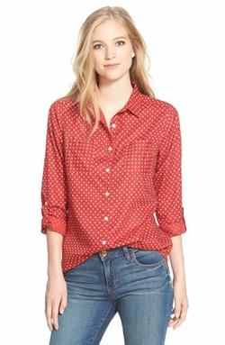 Caslon - Long Sleeve Cotton Shirt