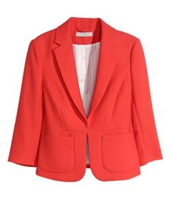 H&M - Textured-weave Blazer