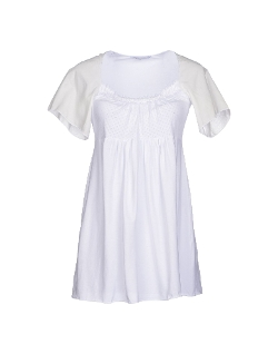 Eileen West  - Floral-Print Lace-Trim Nightgown