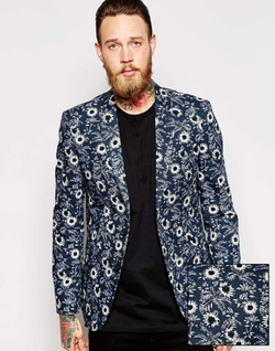 Asos - Floral Print Co-Ord Blazer