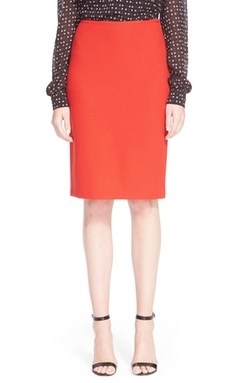 St. John Collection - Nouveau Bouclé Knit Pencil Skirt