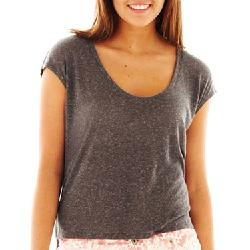 JC Penny - Arizona Solid High-Low Tee