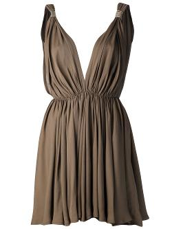 Plein Sud  - Pleated Dress