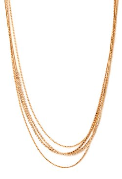 Forever 21 - Subtle Layered Chain Necklace