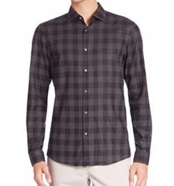 Michael Kors - Enzo Slim-Fit Checkered Shirt