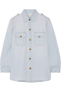 Current/ Elliott  - The Perfect Chambray Shirt